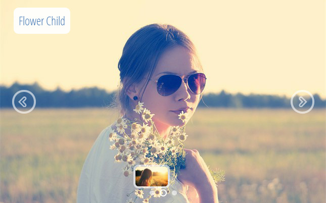 non jQuery Photo Gallery html5  slider