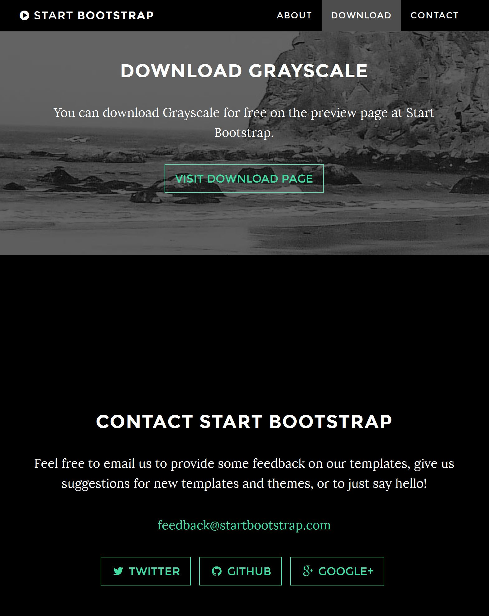 33 brand new free html bootstrap templates 2017 for Bootstrap portfolio templates free