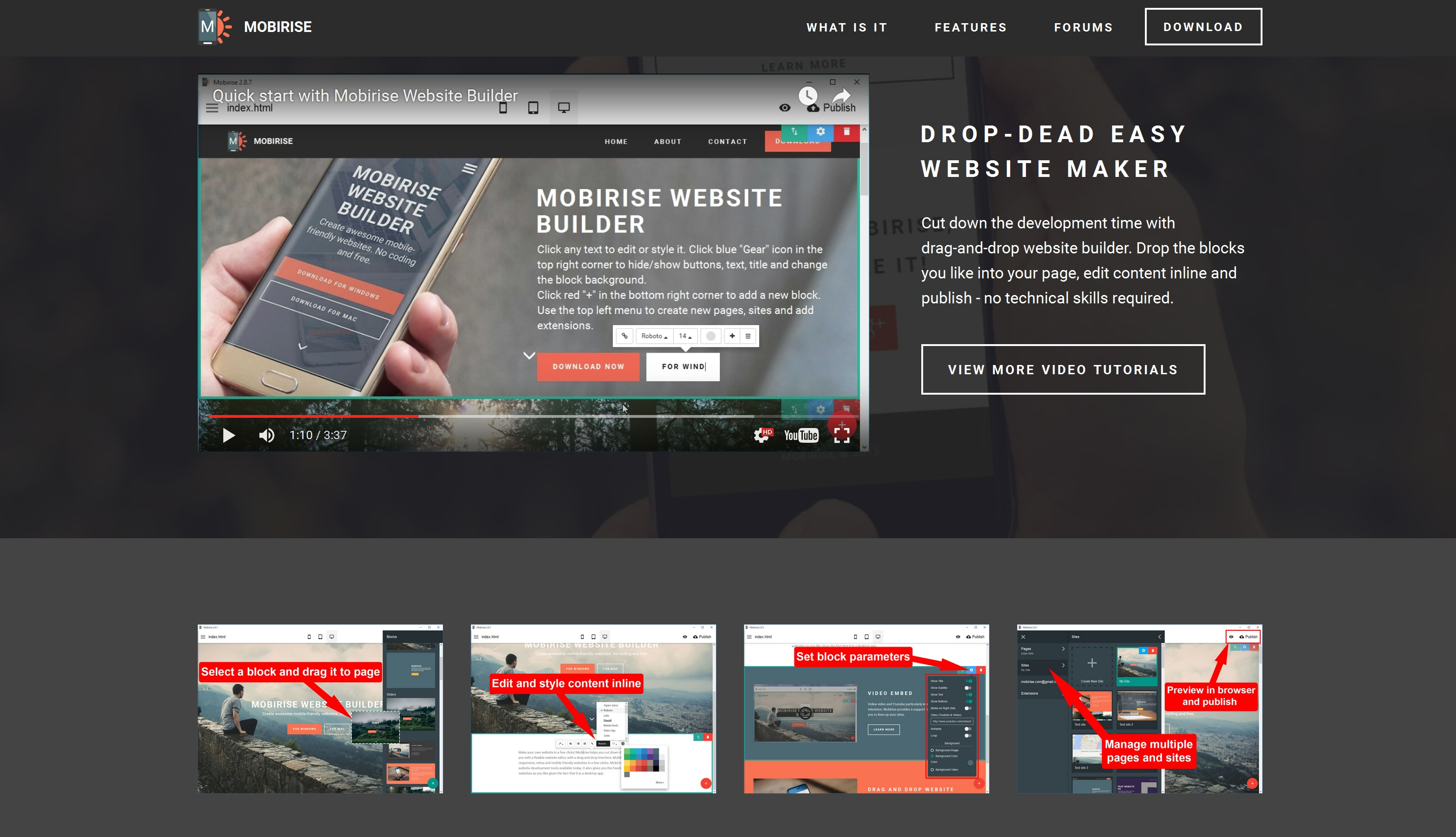 Bootstrap Mobile Website Maker Review