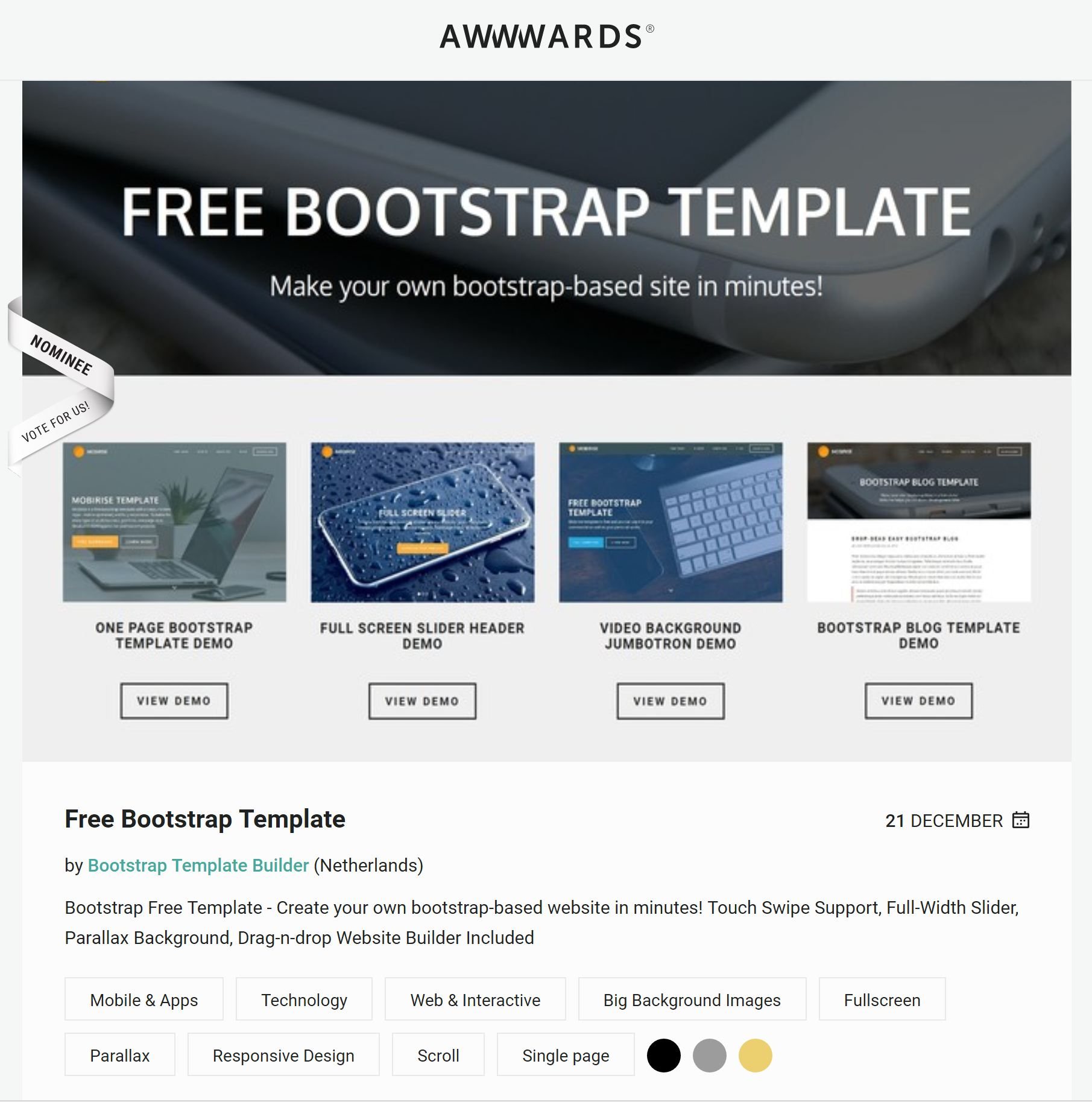 39 brand new free html bootstrap templates 2018 for Free html blog templates