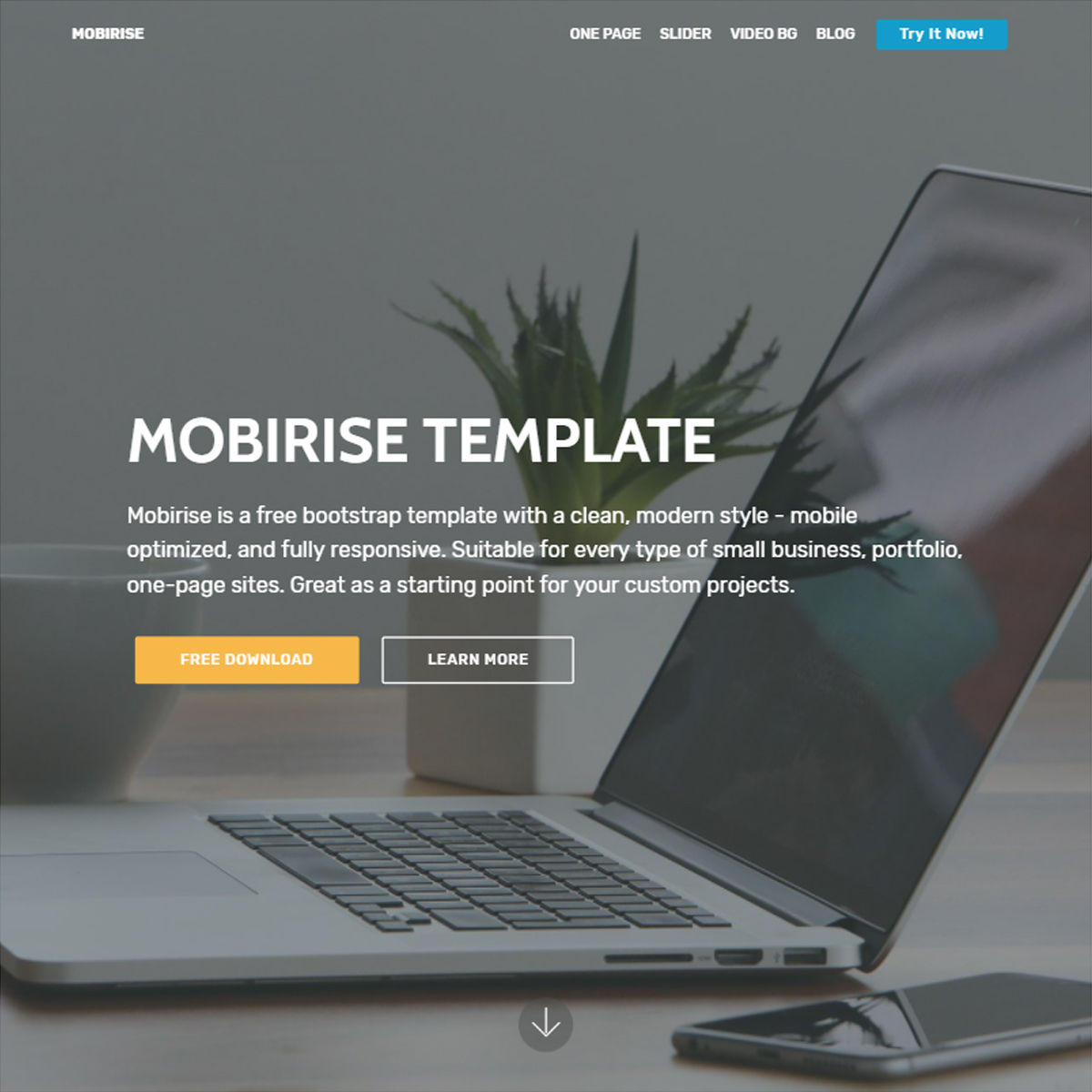Mobile Bootstrap  ONE PAGE  Themes