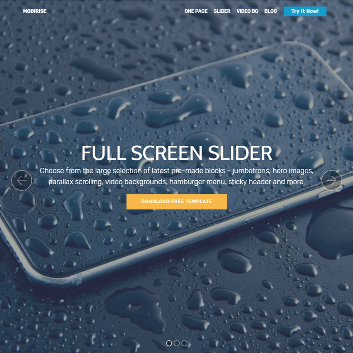 CSS3 Bootstrap  slider  Themes
