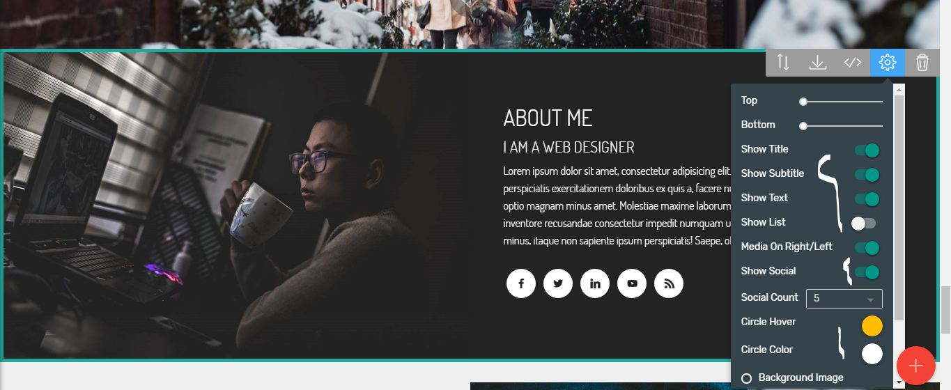 portfolio website bootstrap template