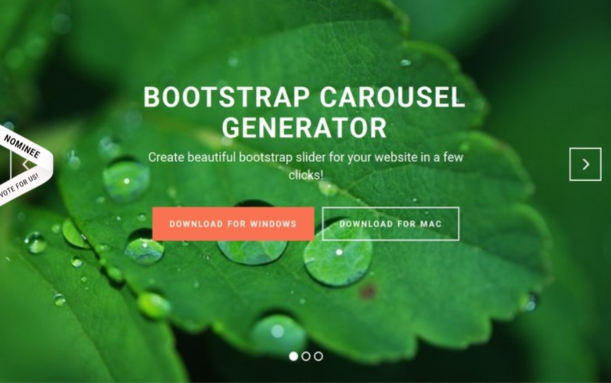 Carousel Bootstrap Example