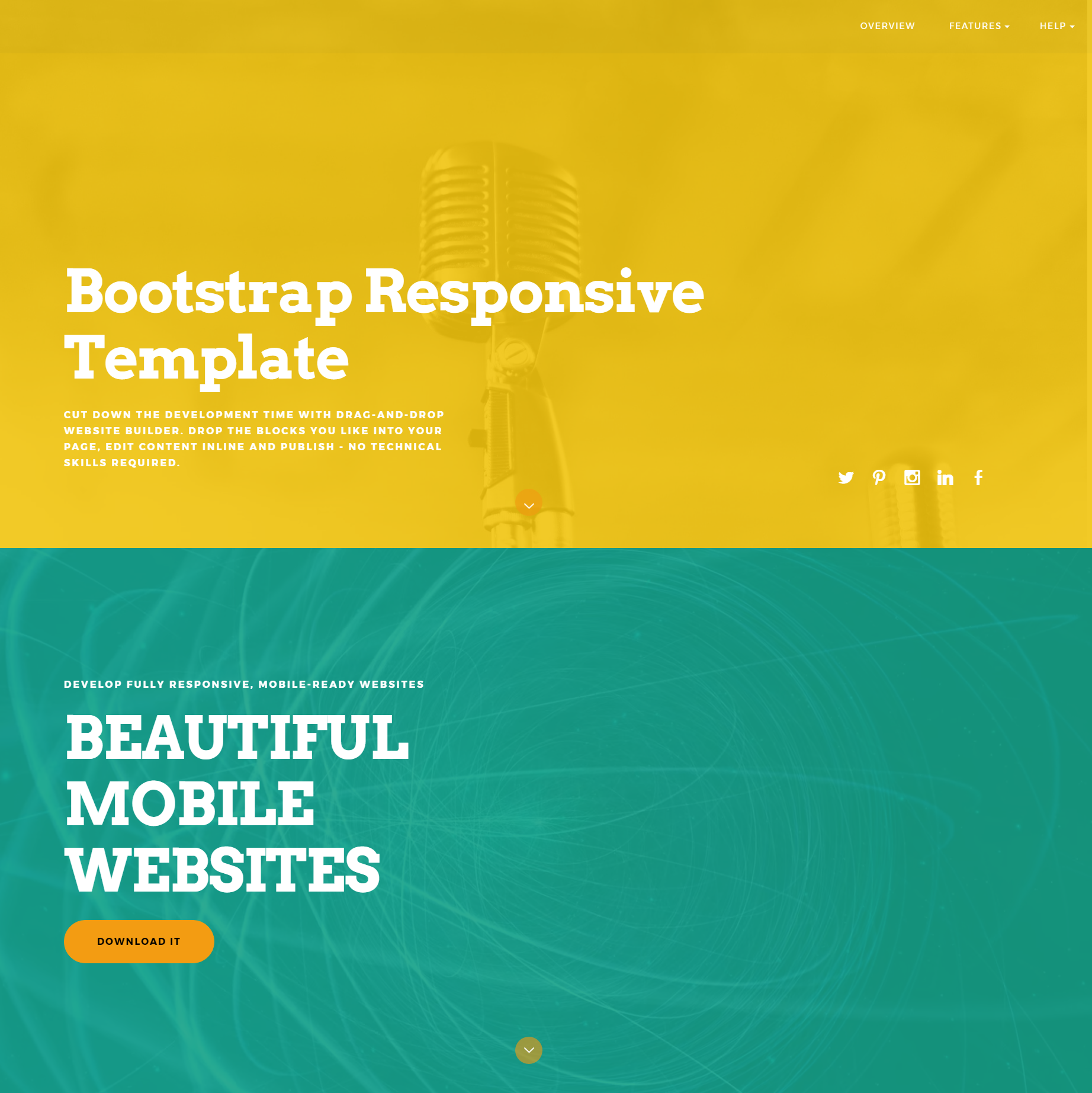 ColorM Bootstrap responsive theme