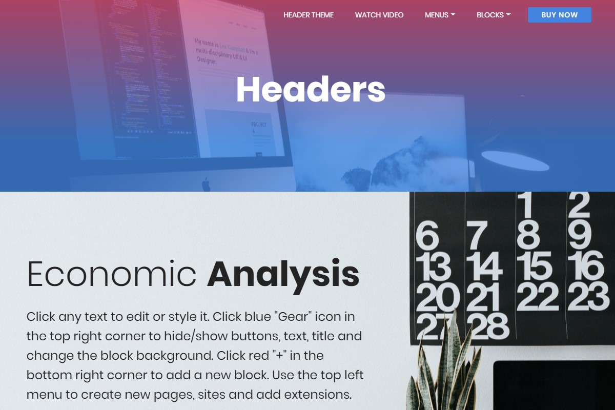 Best 53 cool css3 themes list for Html header menu templates