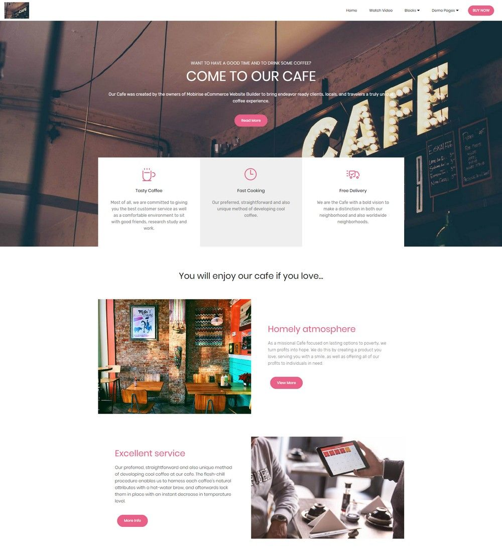HTML eCommerce Website Template