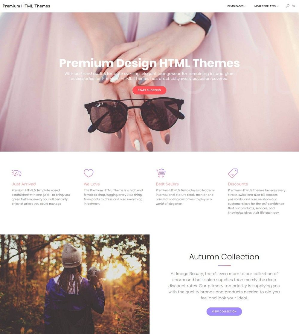 39 Brand New Free HTML Bootstrap Templates 2019