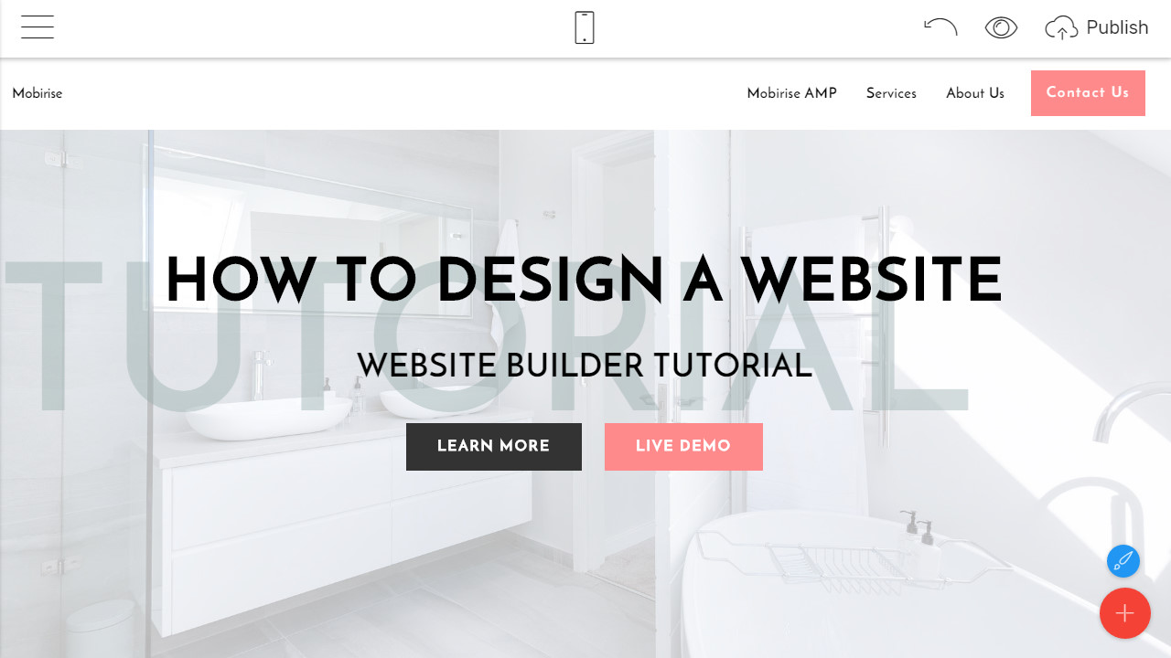 how to make your onw website
