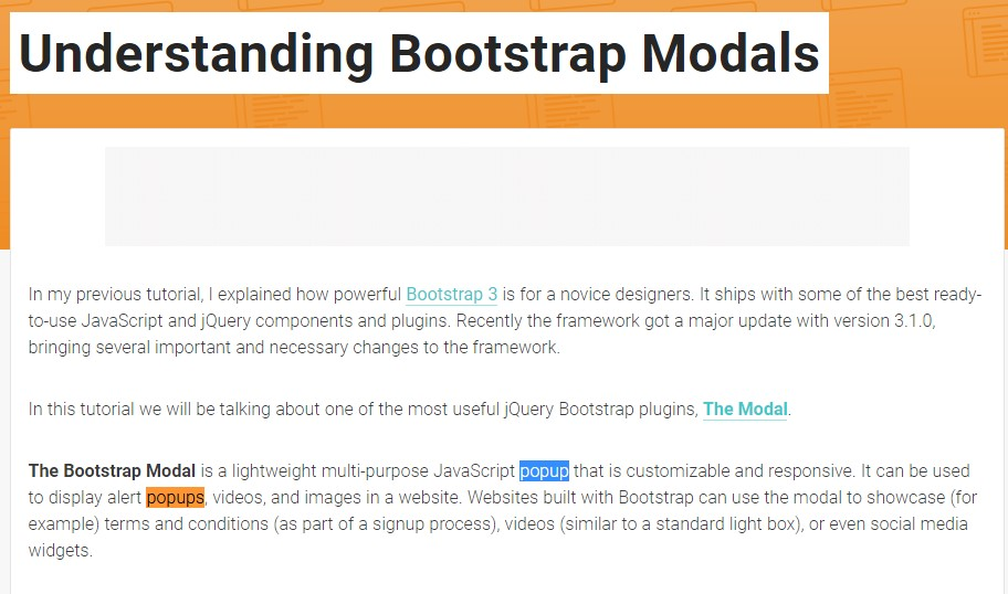 One more  beneficial  post about Bootstrap Modal Popup