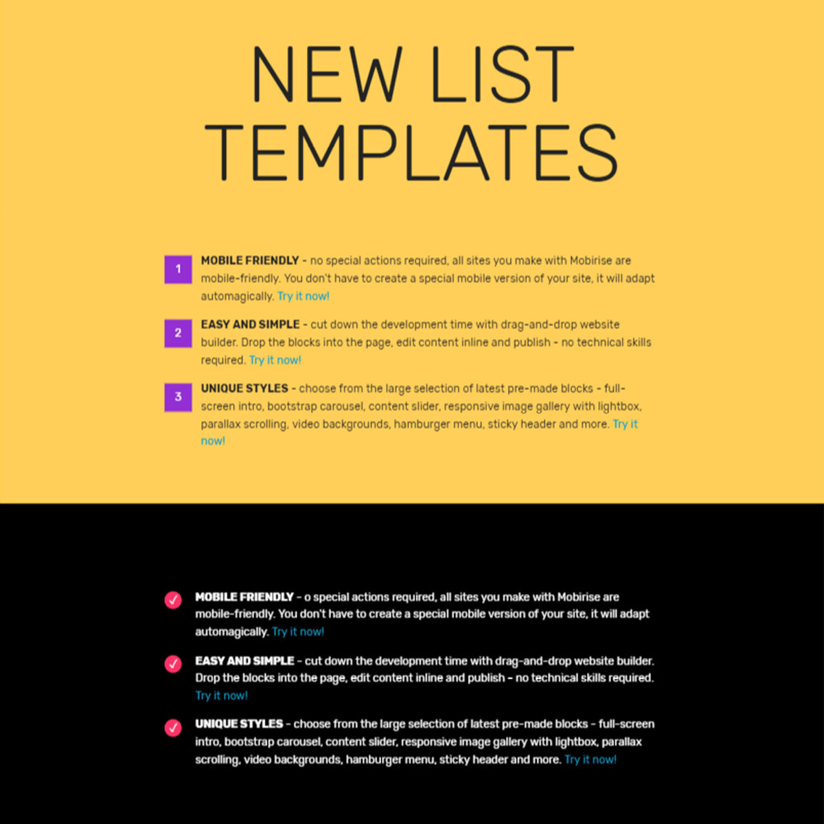 Free Download Bootstrap  List  Themes