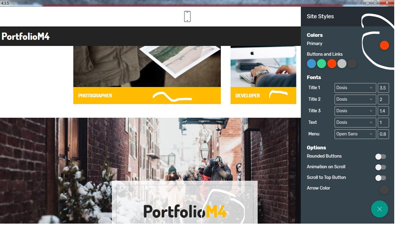best bootstrap portfolio template