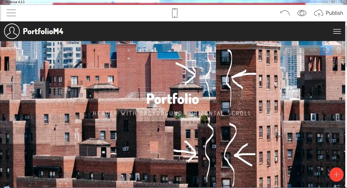 bootstrap portfolio gallery template