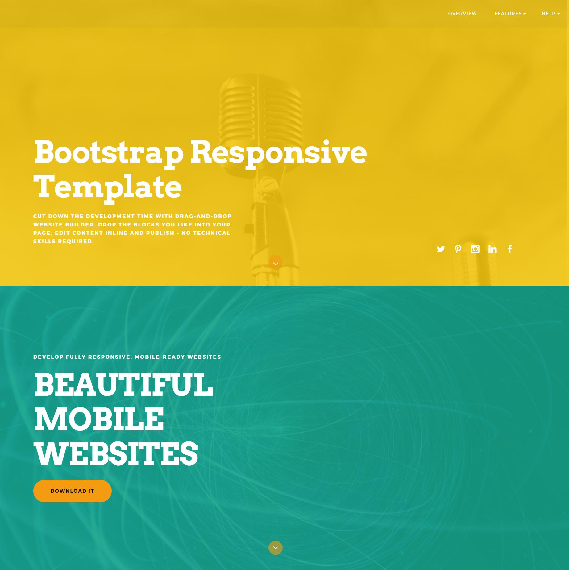 ColorM Bootstrap responsive theme
