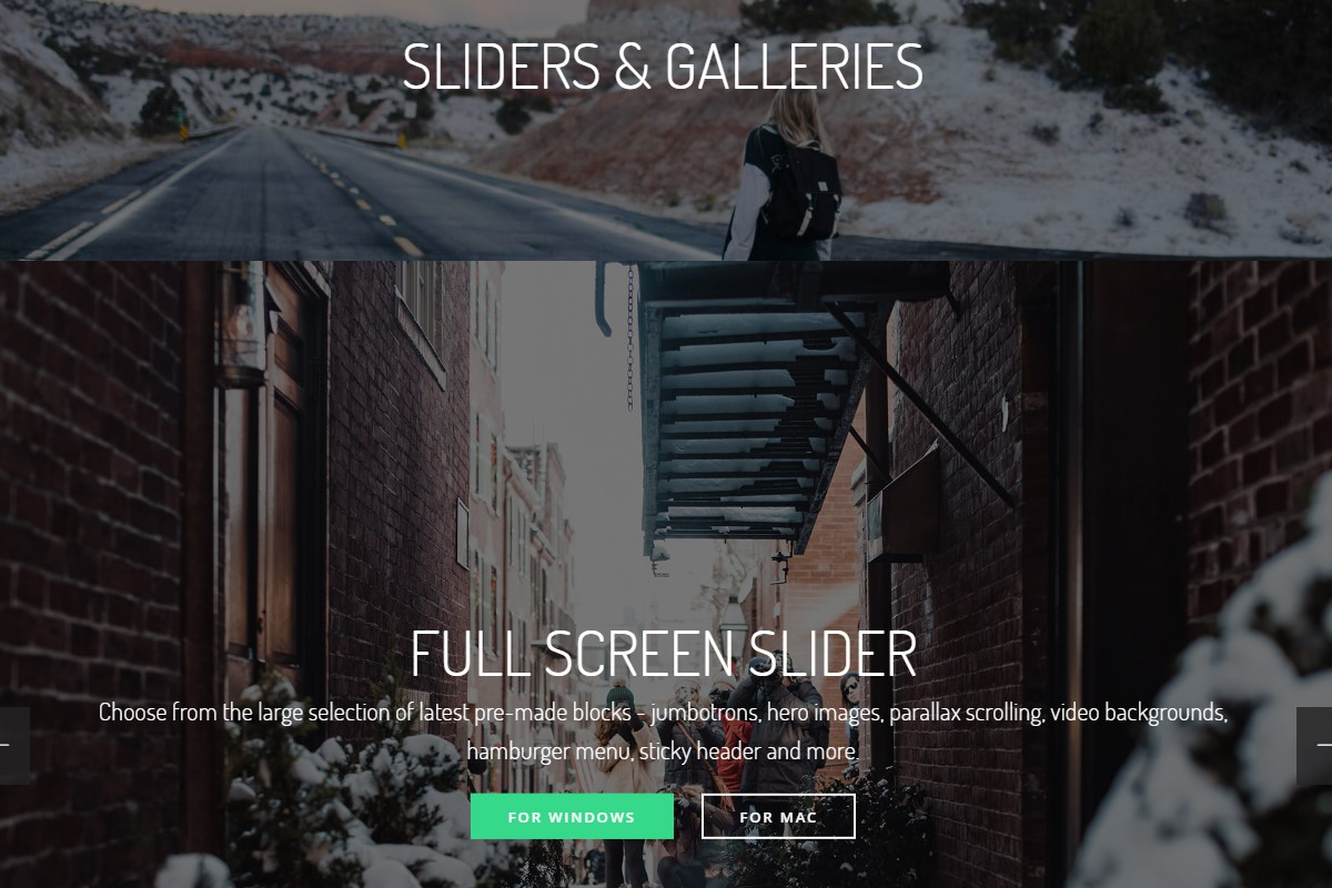 Creative Sliders and Galleries
