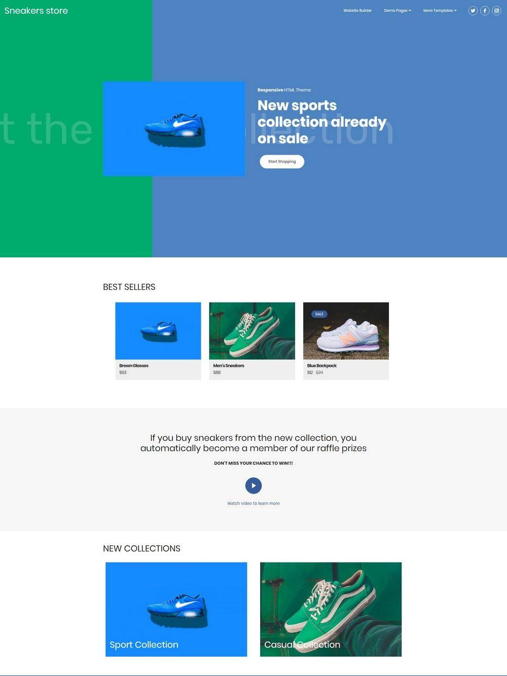 HTML Responsive Templates