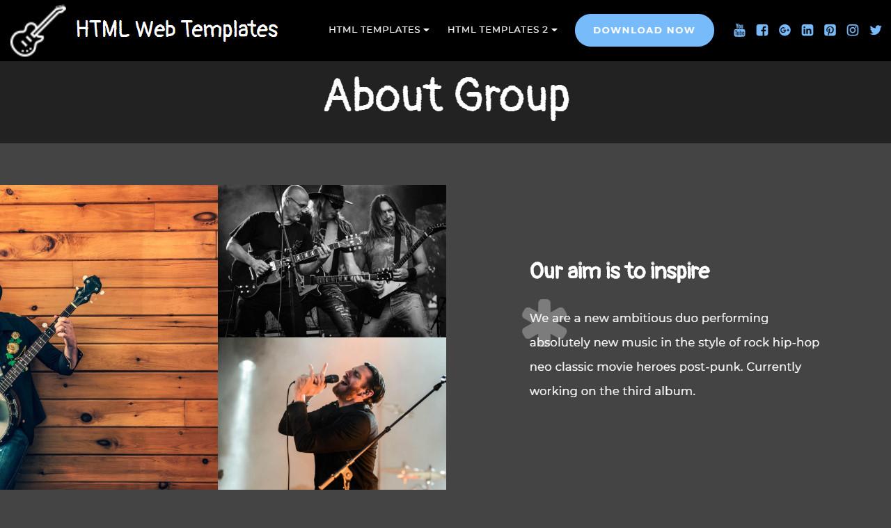 HTML Web Templates