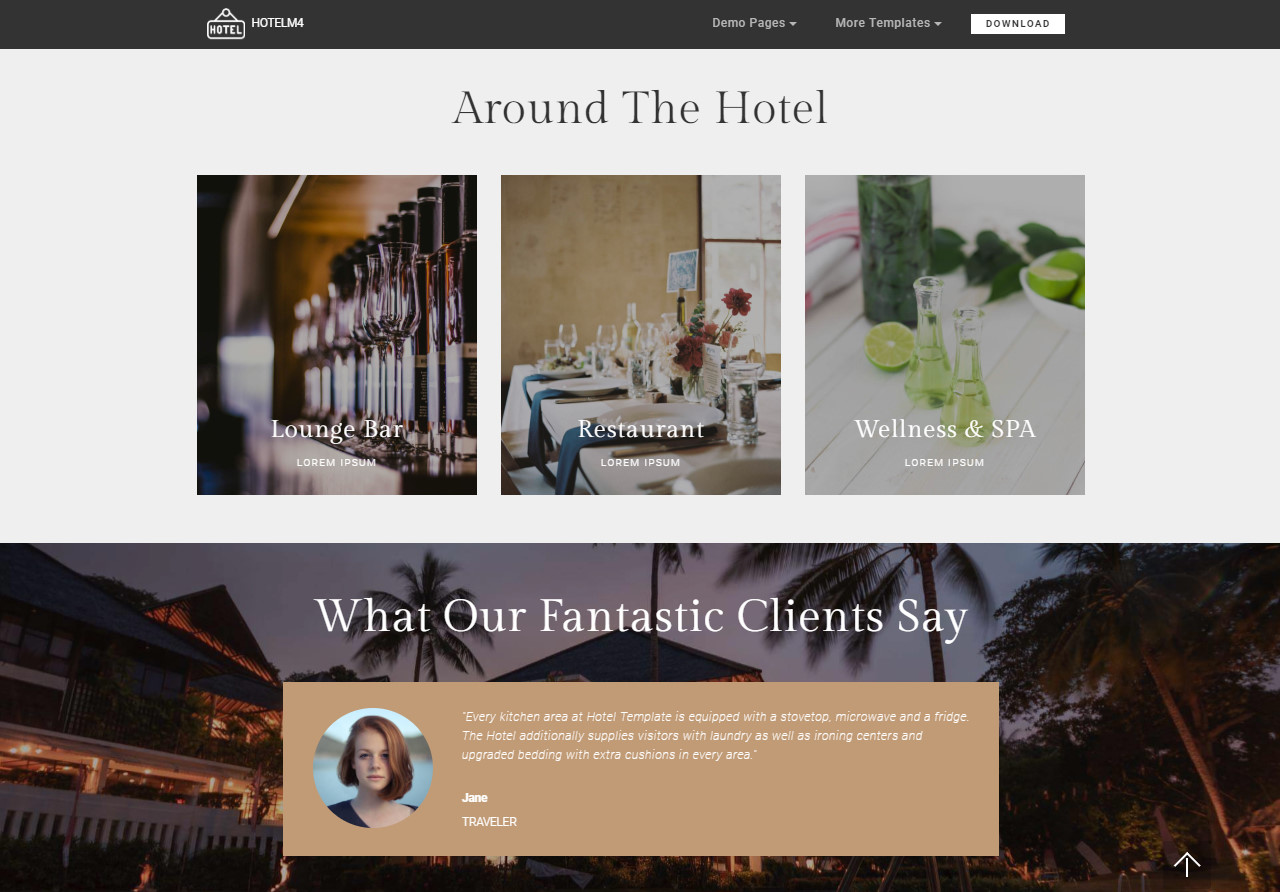 Hotel HTML Template