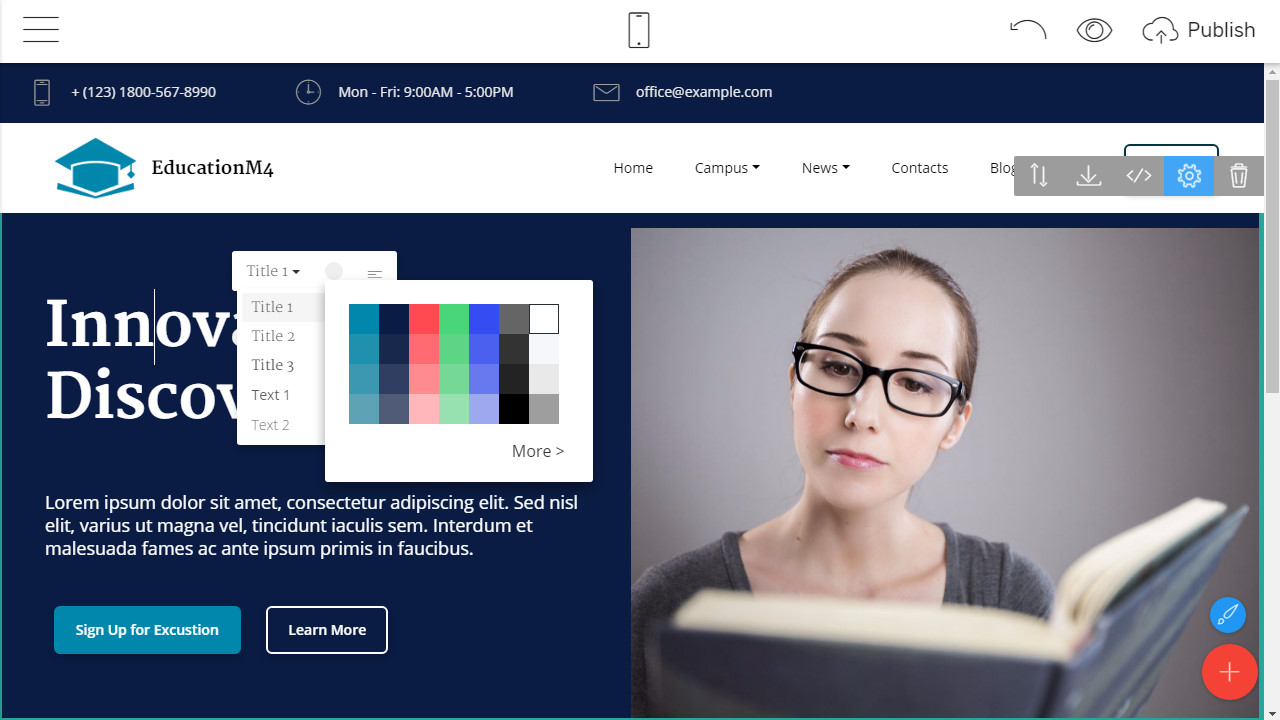 free bootstrap template 2018
